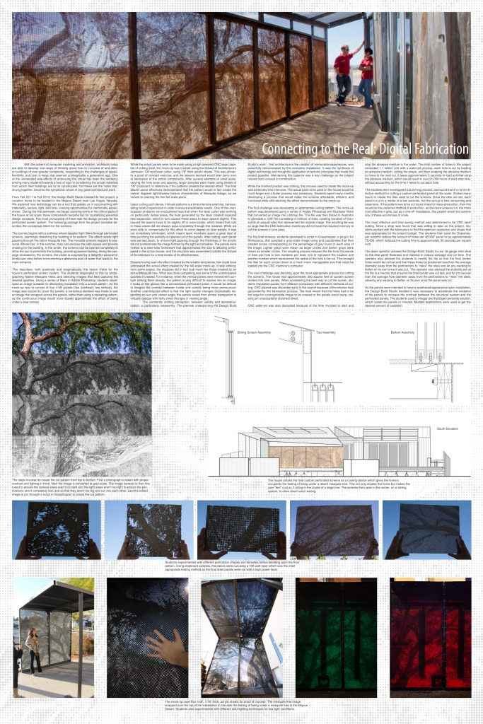 Papers and Posters at ACSA 2014 | UNLV Design+Build
